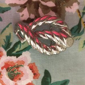 Mini di N Accessories - Vintage 1999 Mimi di N Knot Silver Belt Buckle